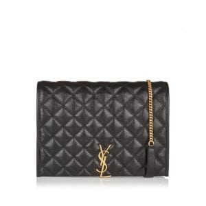 Becky large quilted shoulder bag