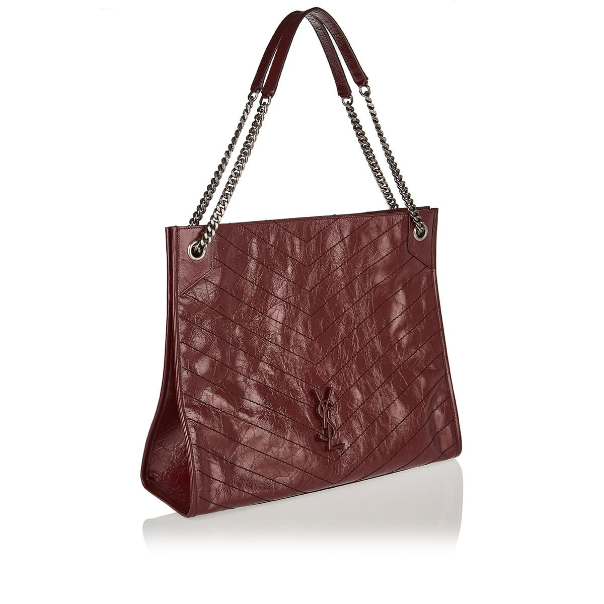 Niki large leather shopper