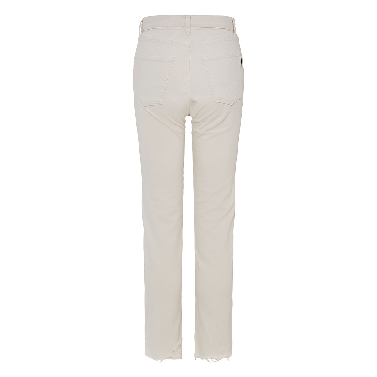 Cropped slim-fit jeans