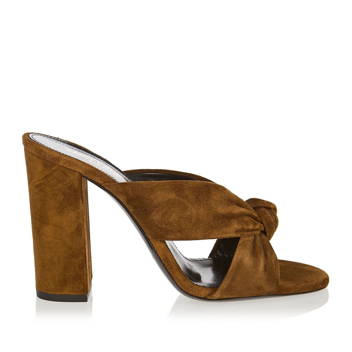 Loulou suede mules