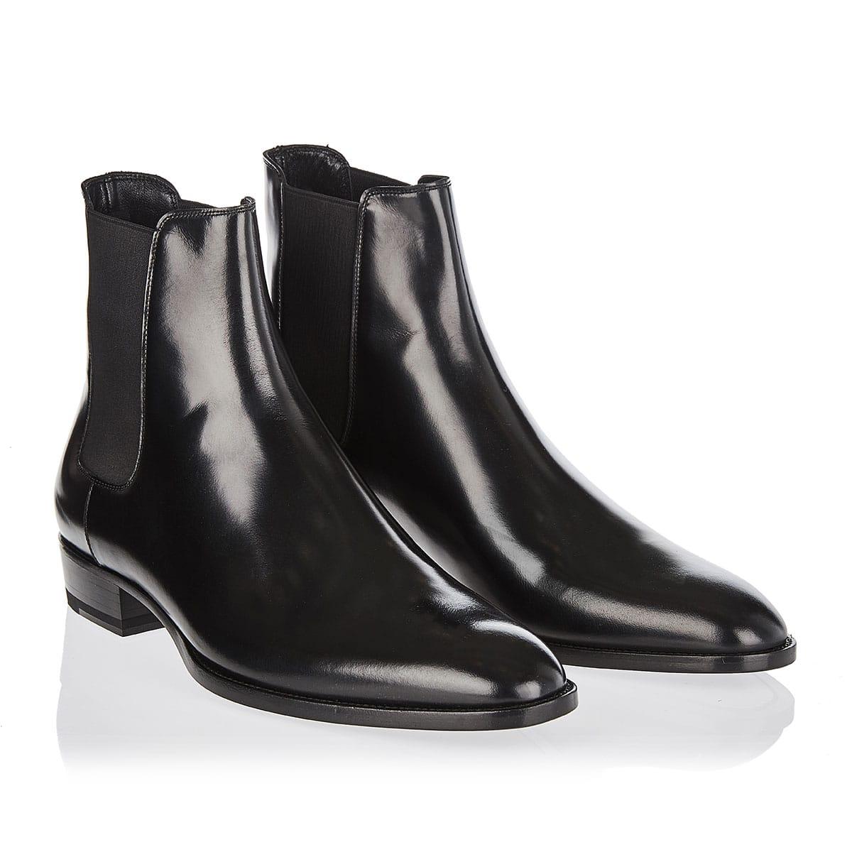Wyatt leather chelsea boots