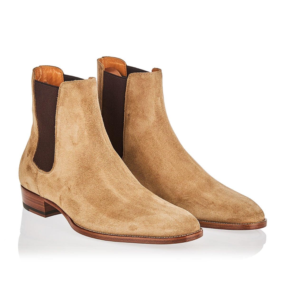Wyatt Chelsea suede boots