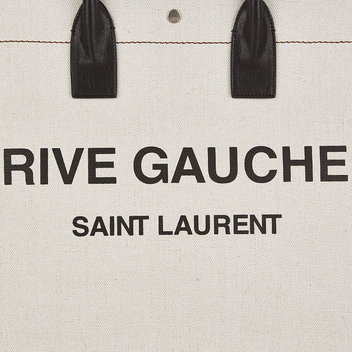 Rive Gauche linen tote