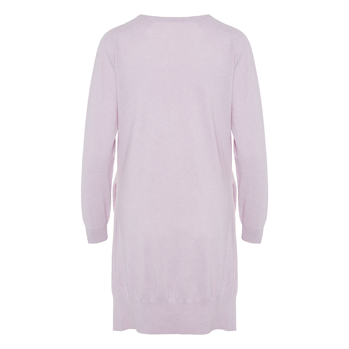 Oversized cashmere-knitted dress