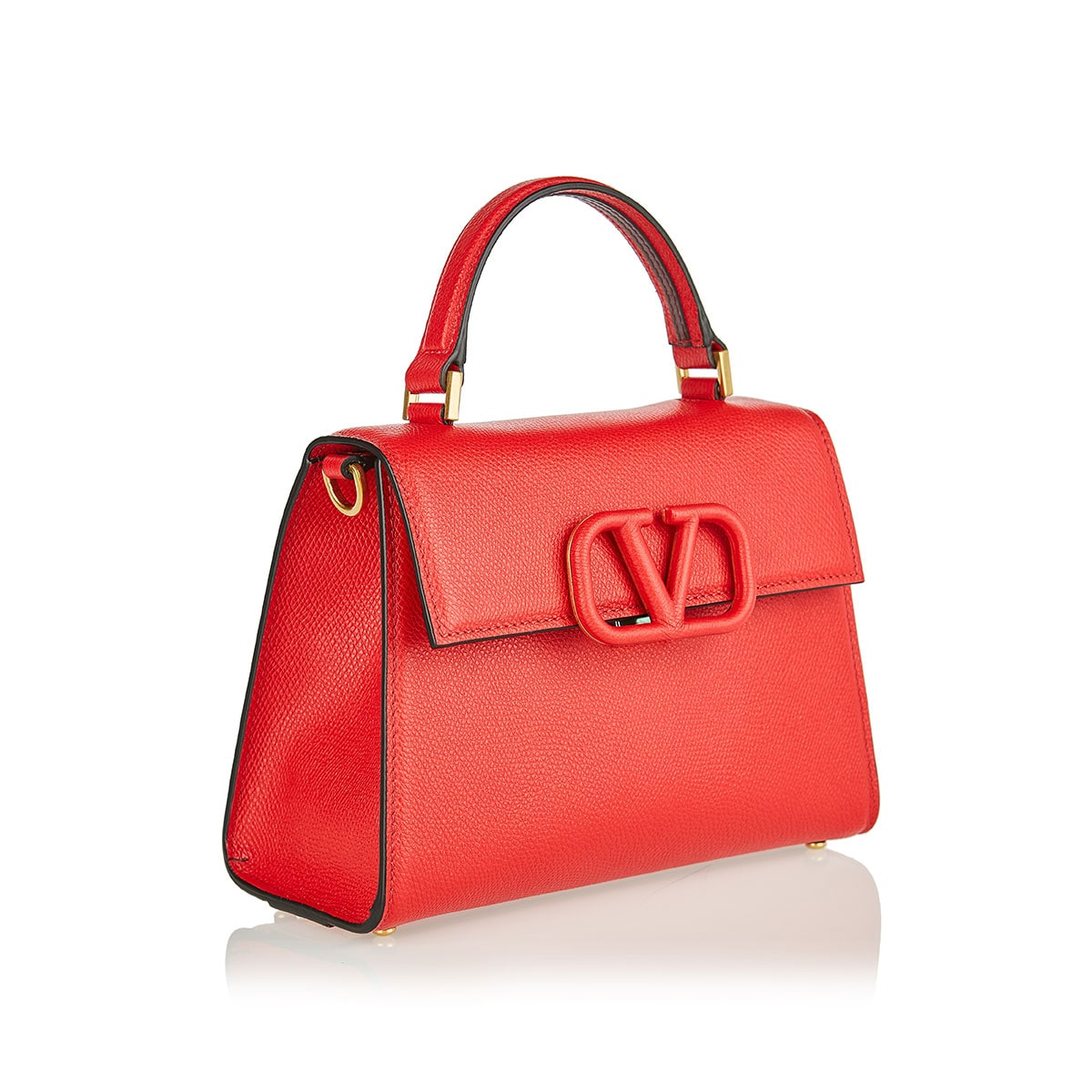 VSLING small leather top-handle bag