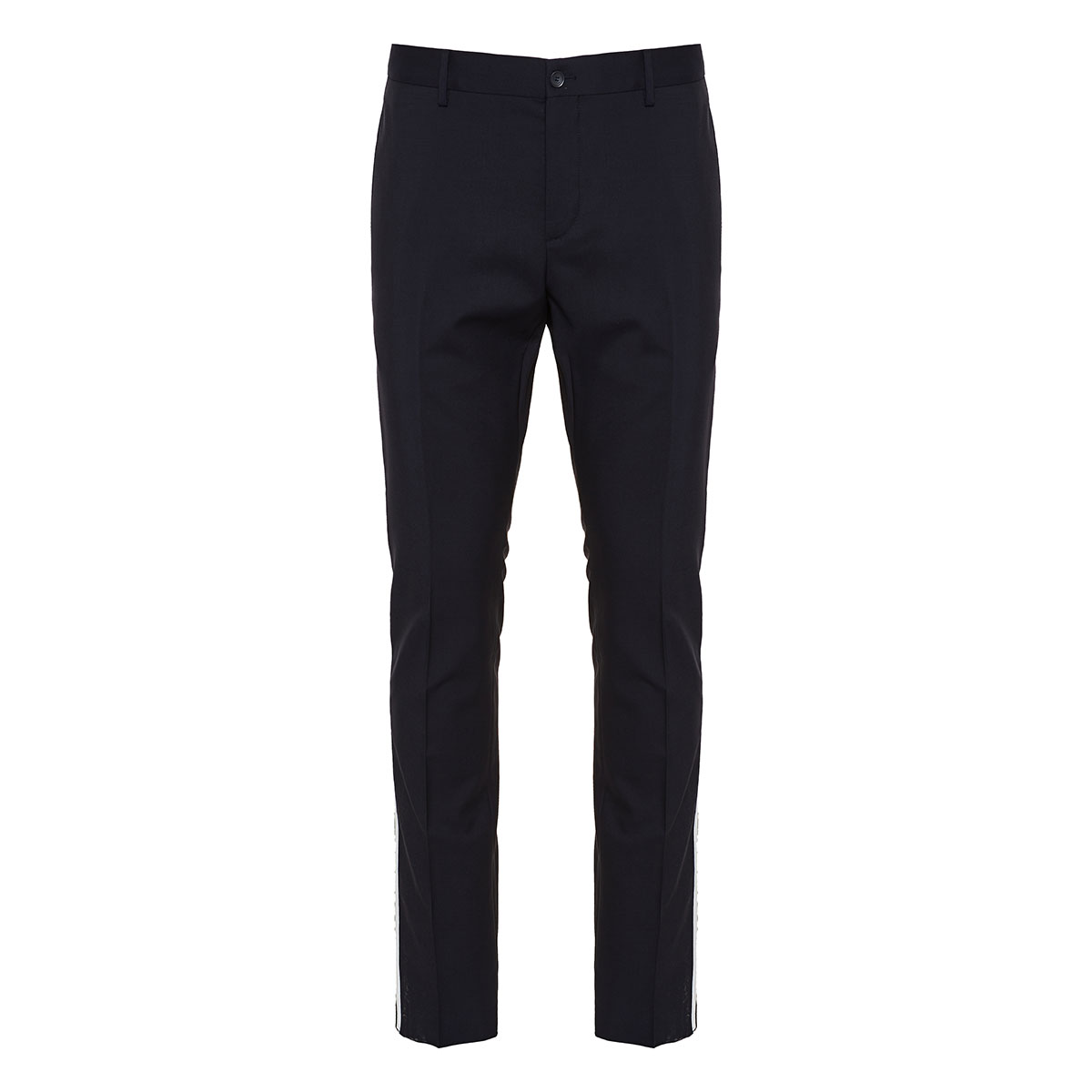 Side-striped tailored trousers