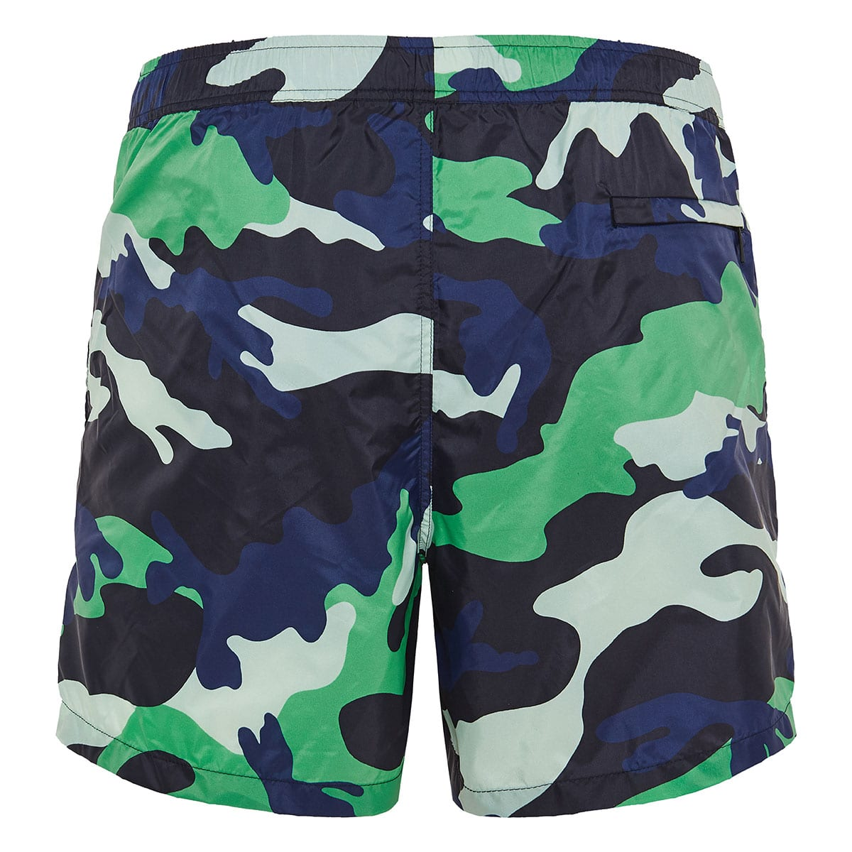Camouflage printed swim shorts
