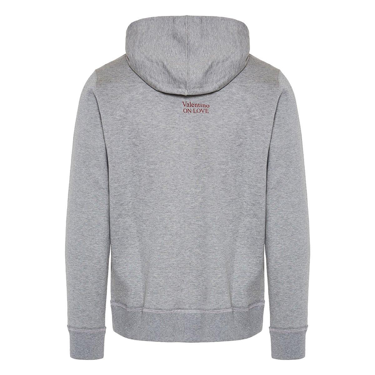 On Love logo hoodie