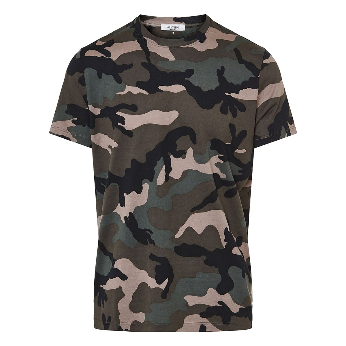 Camouflage printed t-shirt