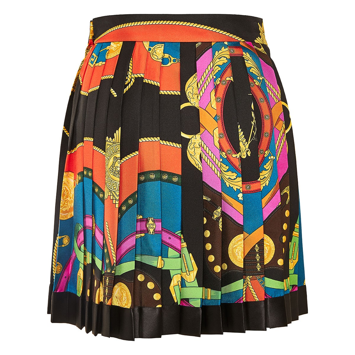 Barocco Rodeo pleated mini skirt