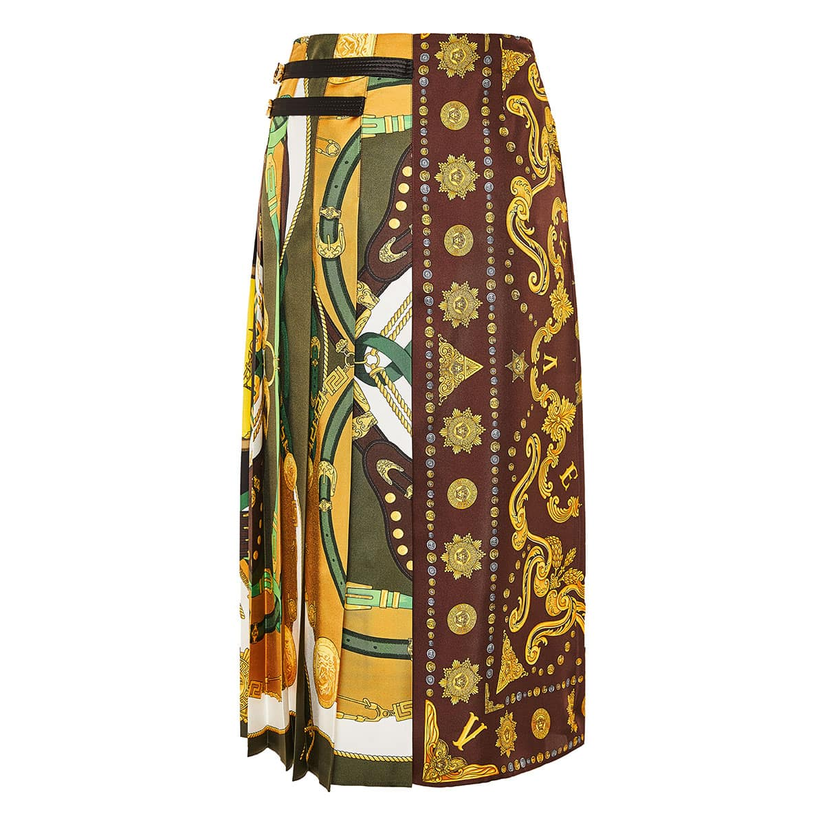 Barocco Rodeo printed midi skirt