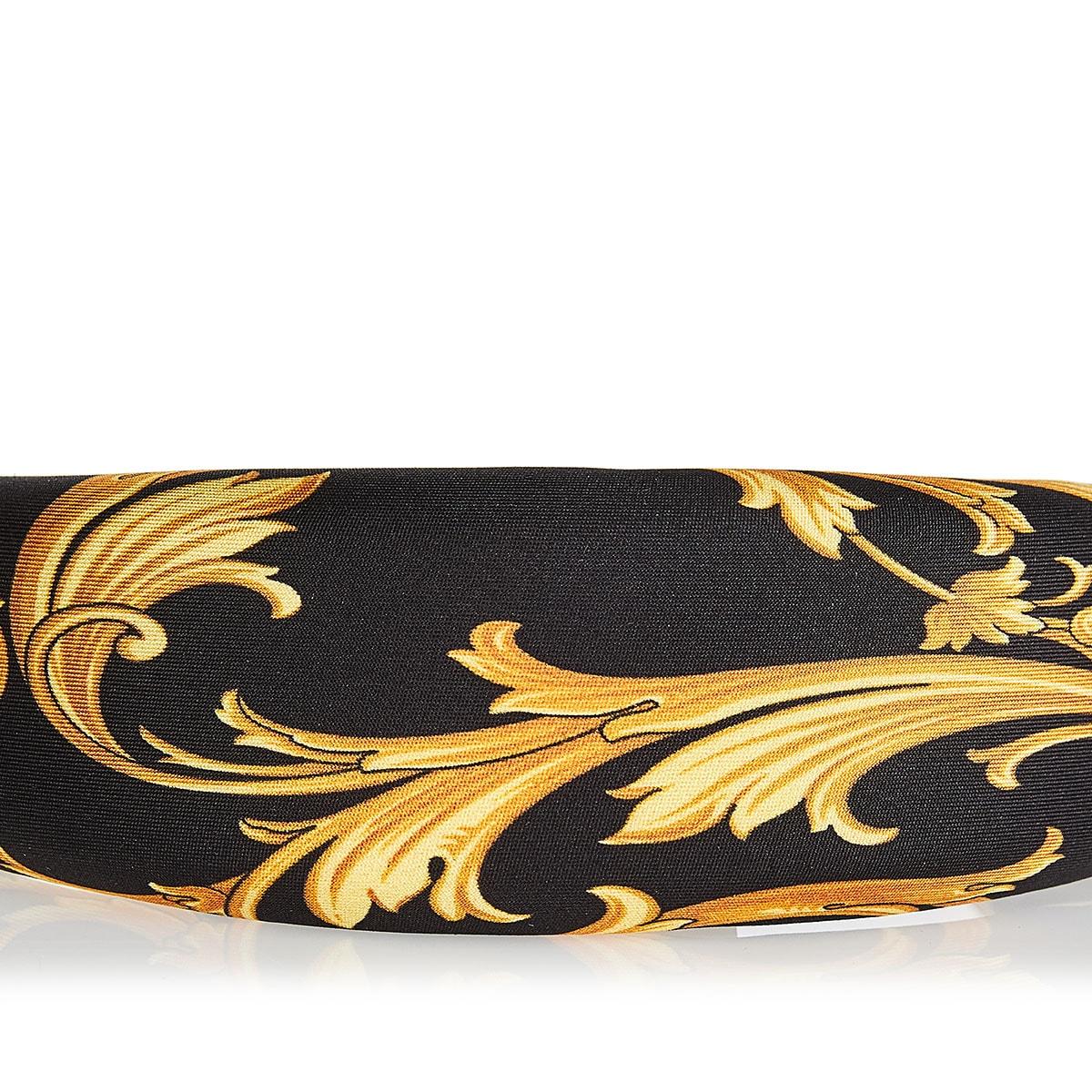 Barocco silk headband