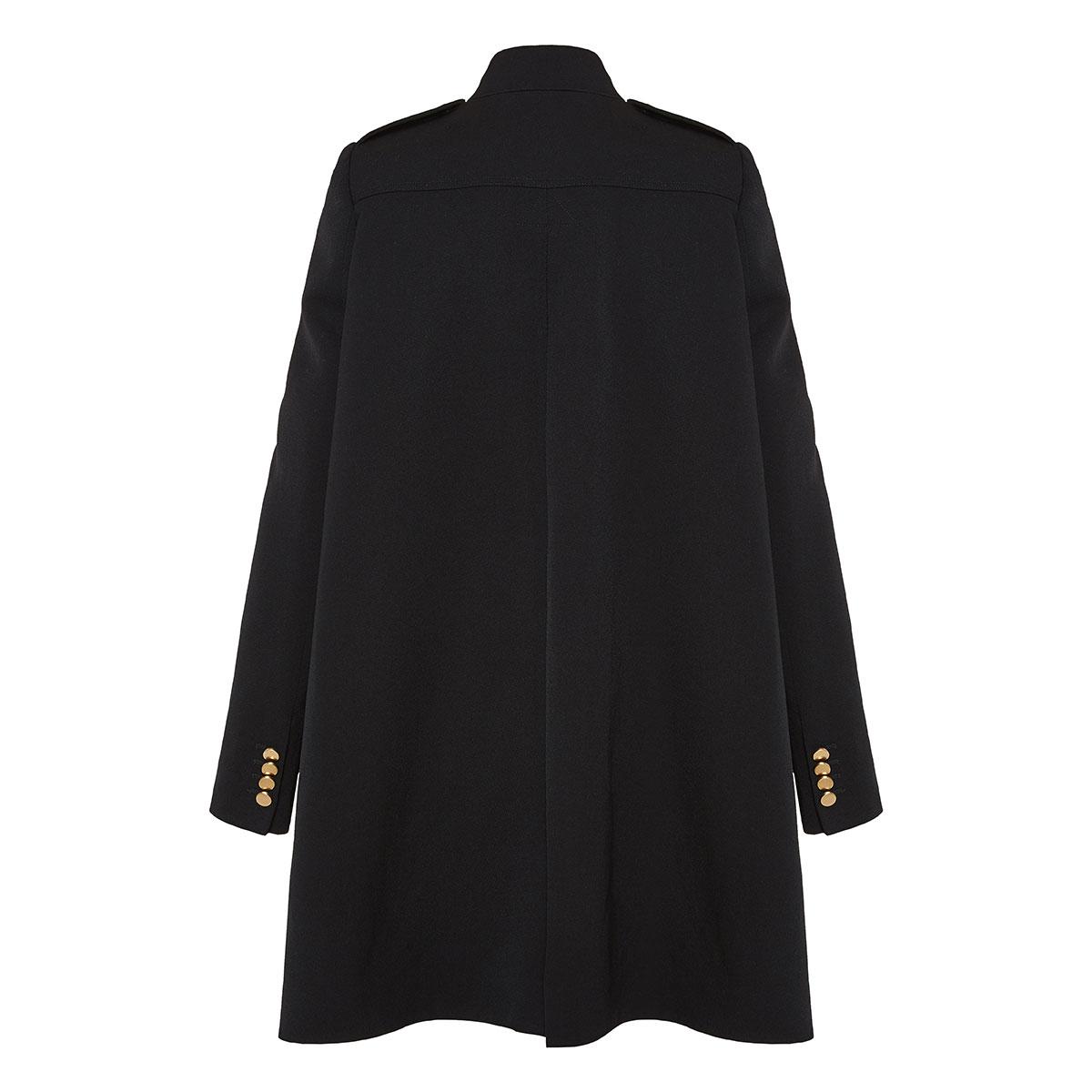 Oversized military coat