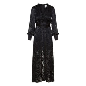 Cordelia long textured dress