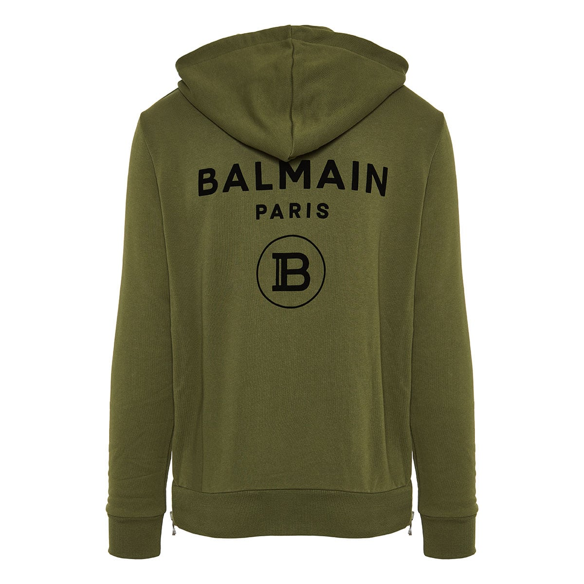 Logo zipper hoodie