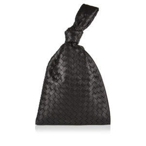 BV Twist Intrecciato leather pouch