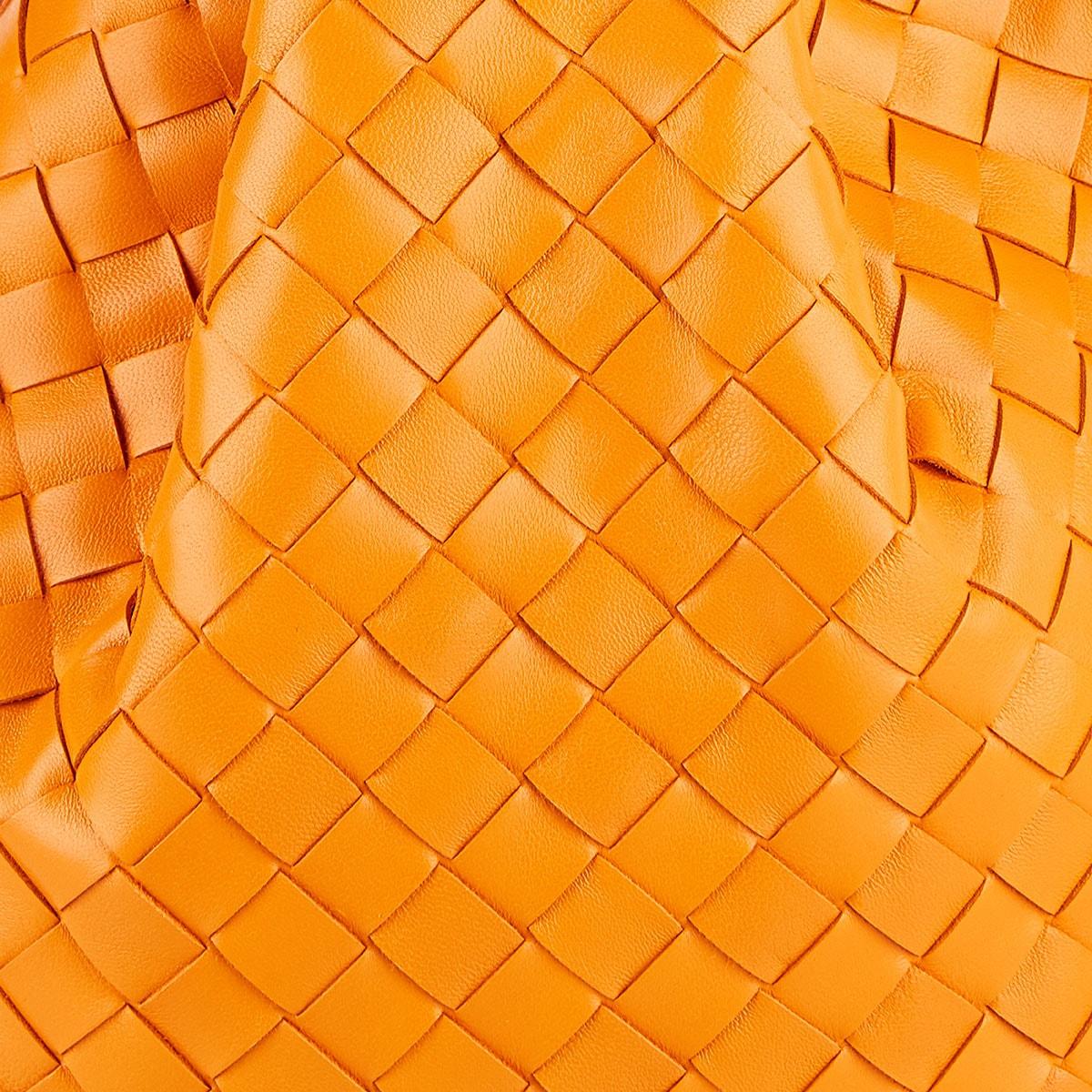 BV Twist Intrecciato leather pouch