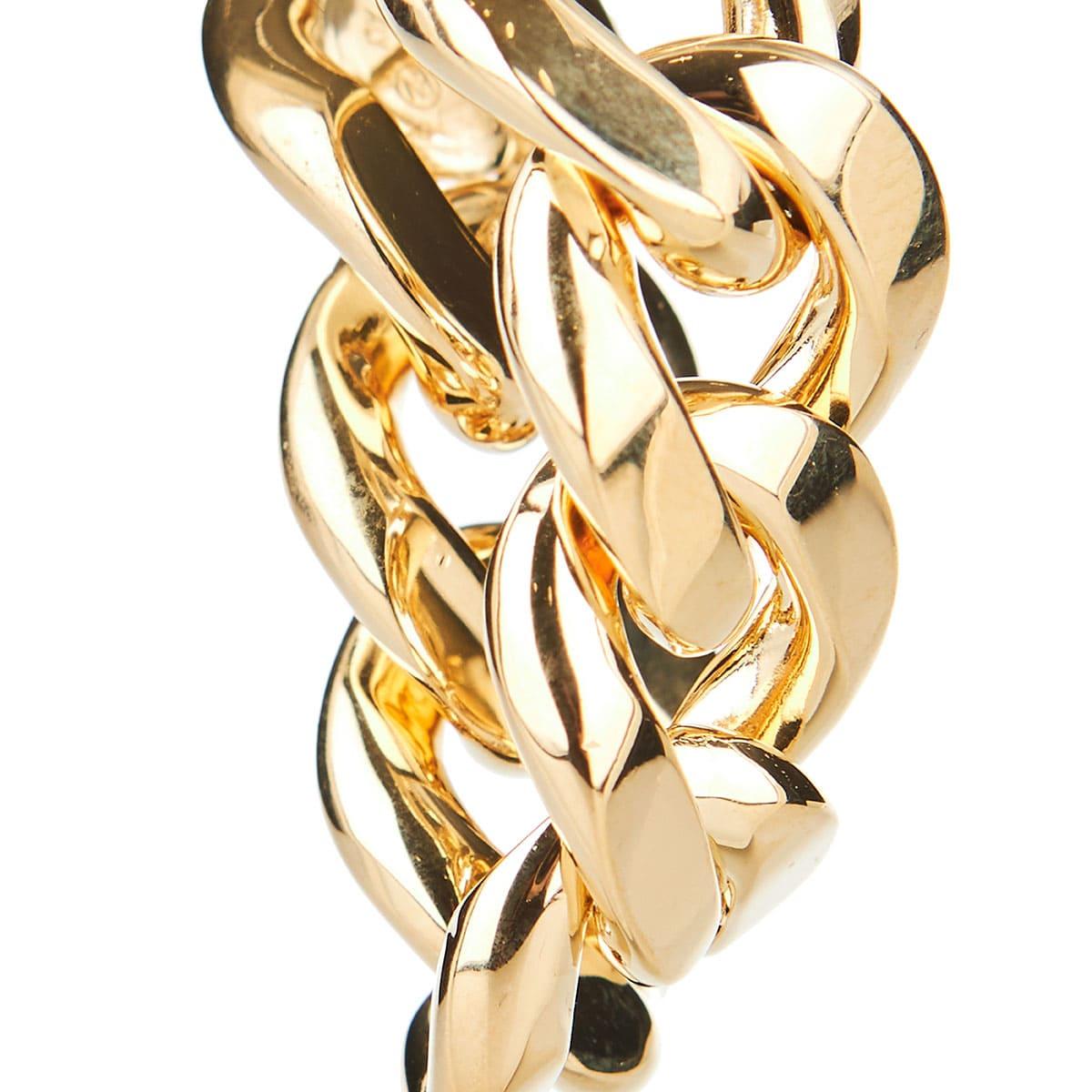 Link-chain drop earrings