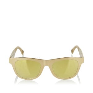 Aluminium metallic sunglasses