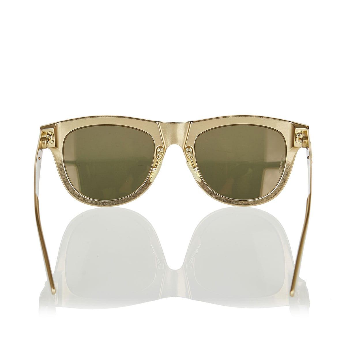 Aluminium metallic sunglasses