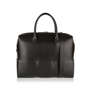 Maxi Intreccio leather tote