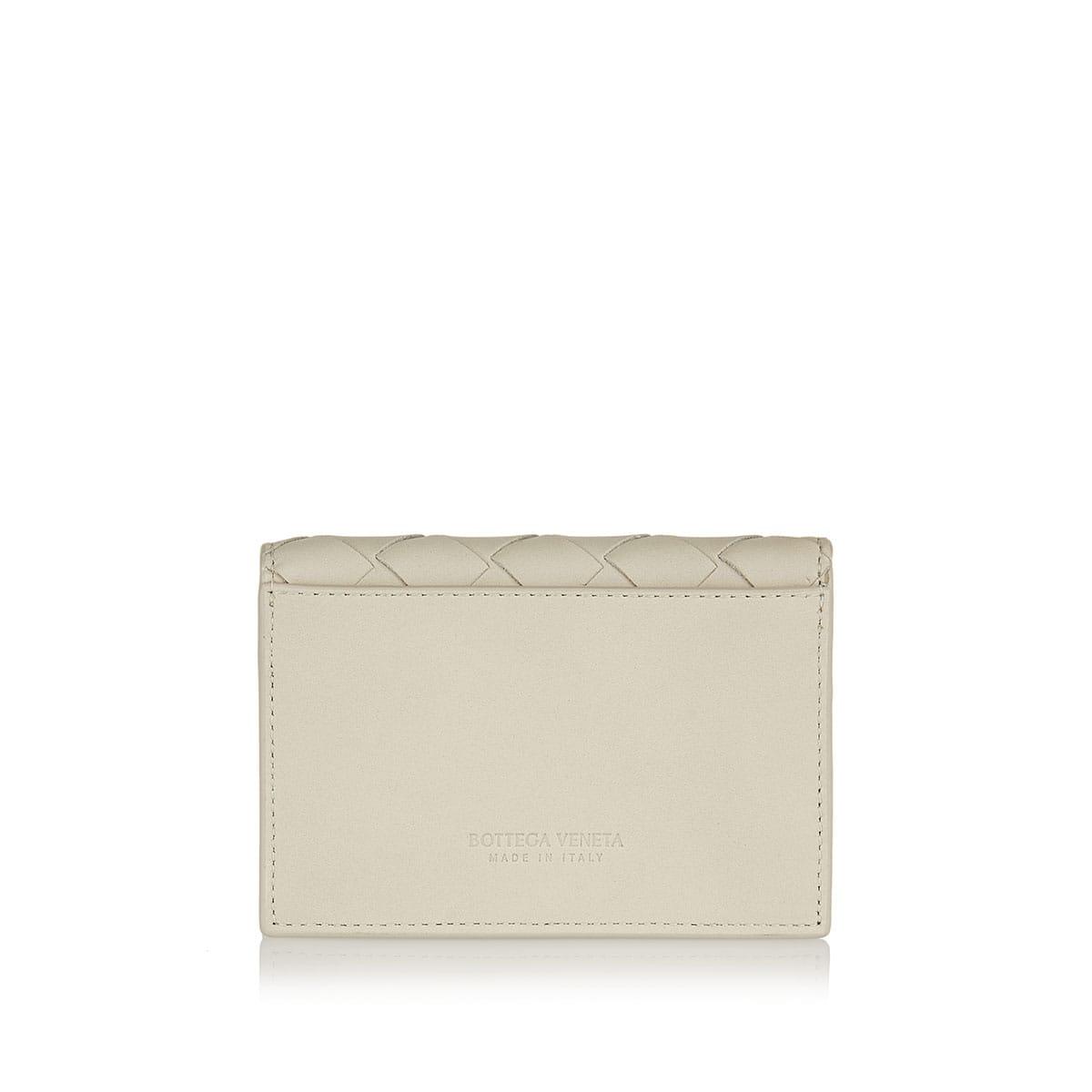 Intrecciato bi-fold card case