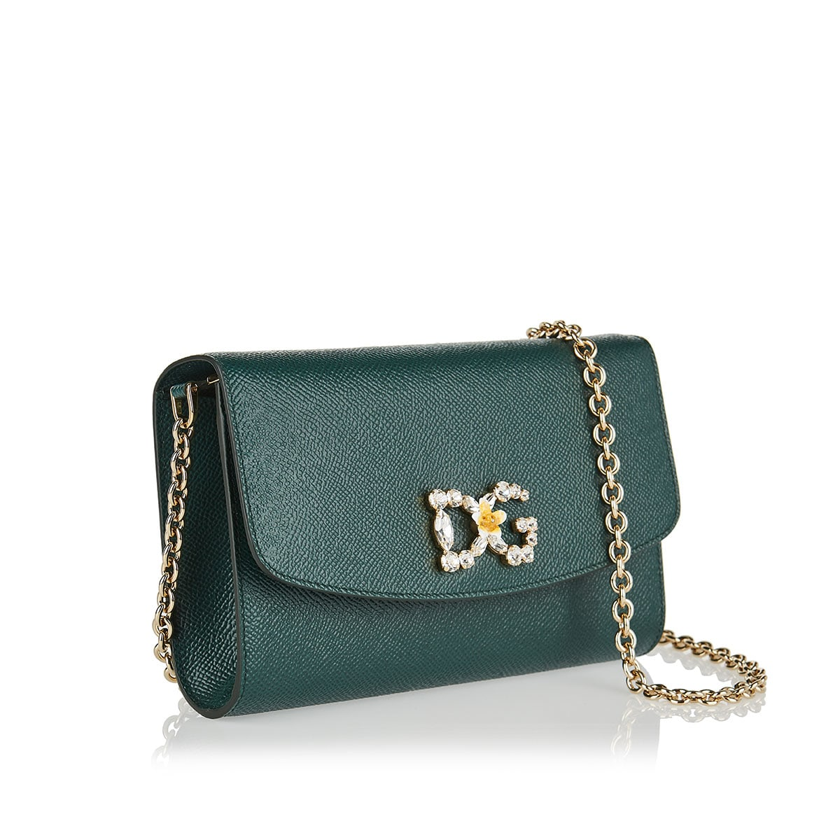 DG mini leather shoulder bag