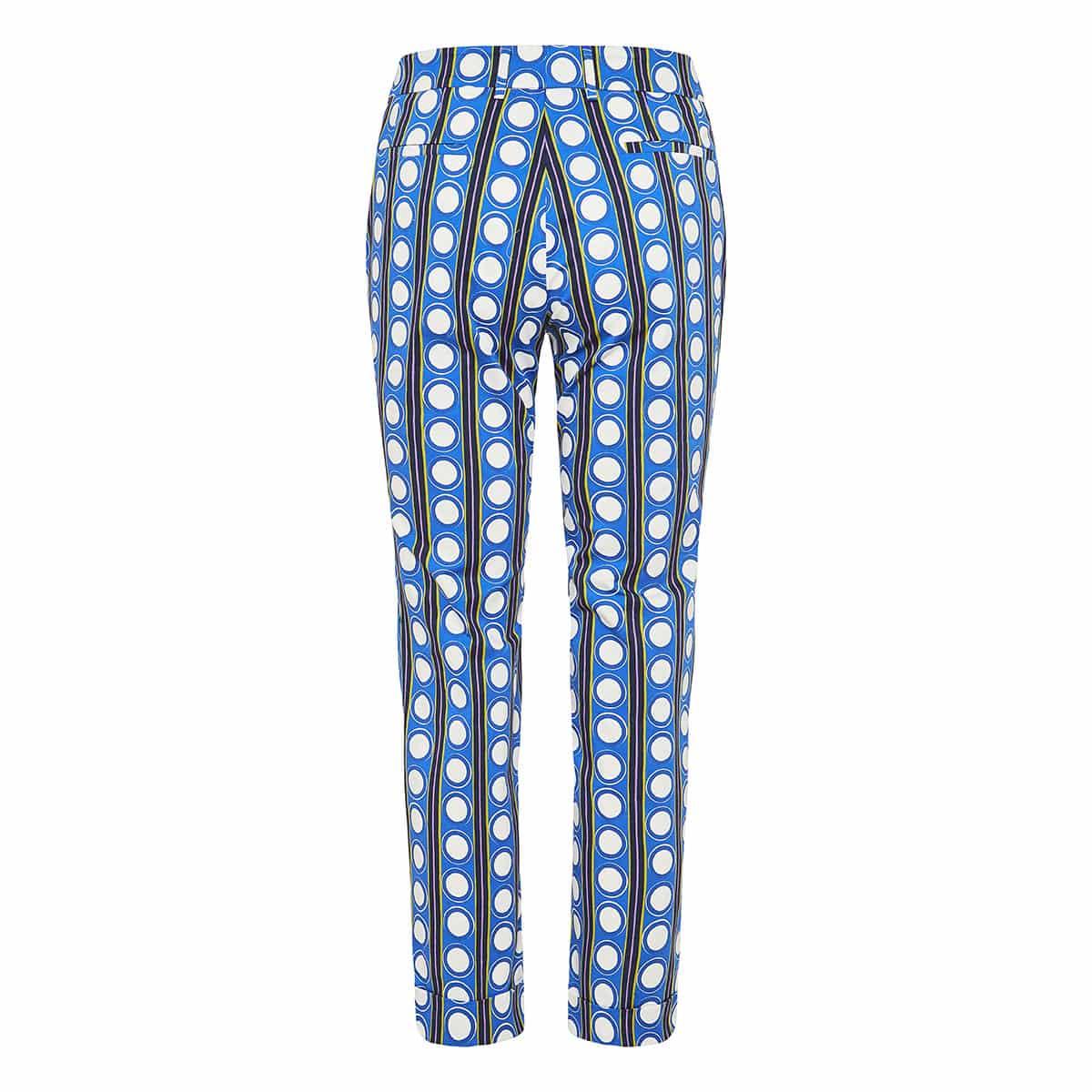 Capri printed cigarette trousers