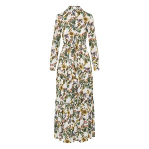 Bellini floral long tiered dress