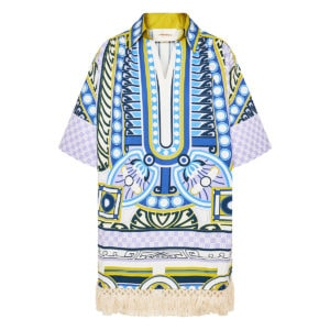 Honolulu printed tunic dress