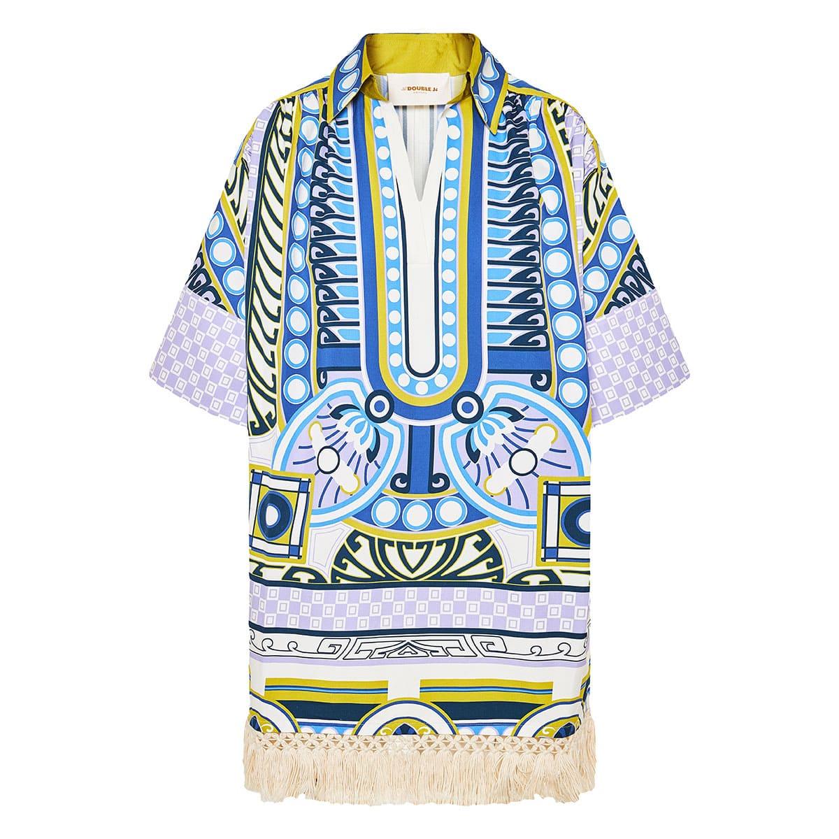 Honolulu printed tunic dress