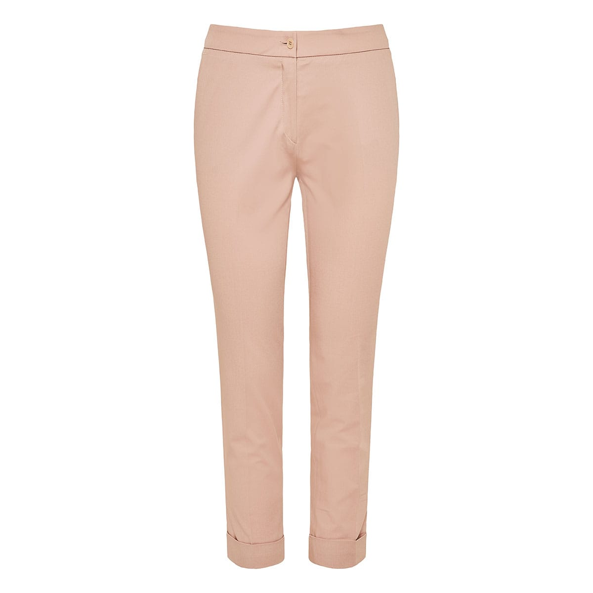Stretch-cotton trousers
