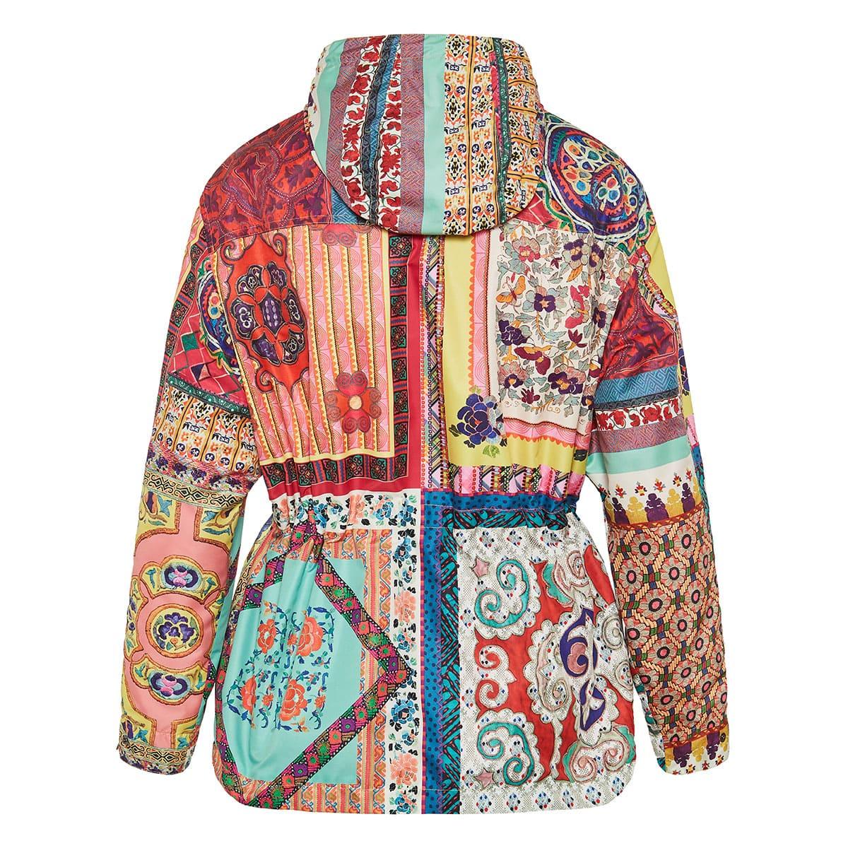 Printed nylon jacket