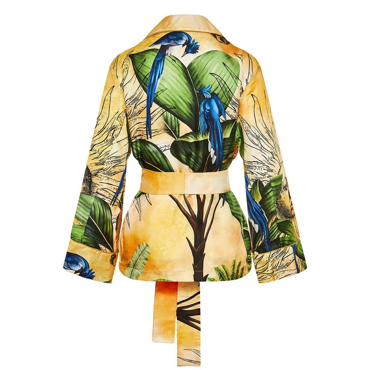 Giocasta printed robe shirt