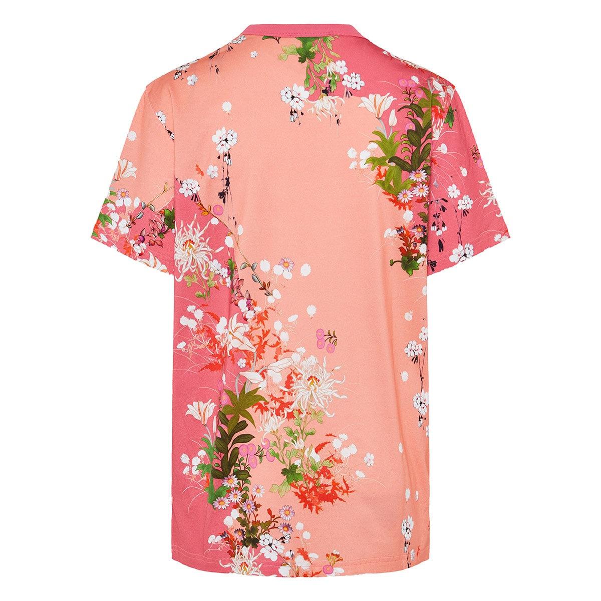 Oversized floral logo t-shirt