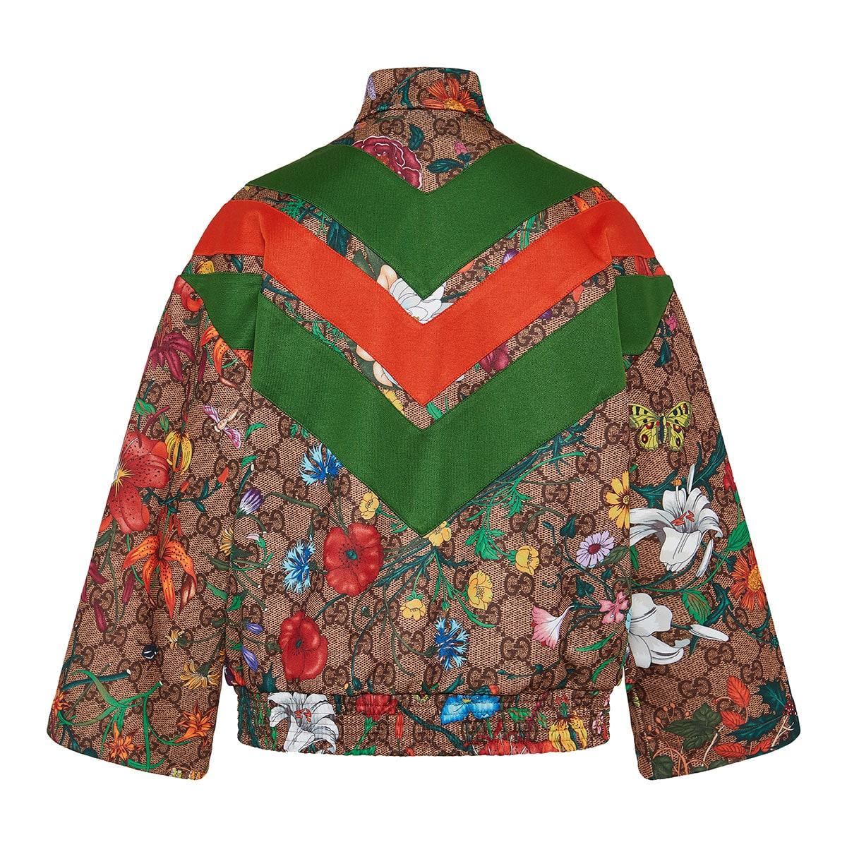 GG Flora track jacket
