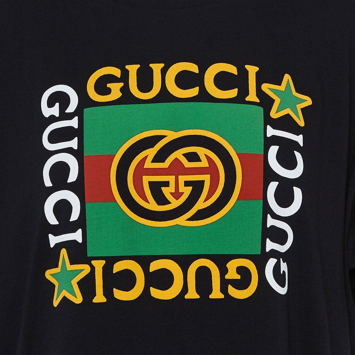 Oversized logo printed t-shirt