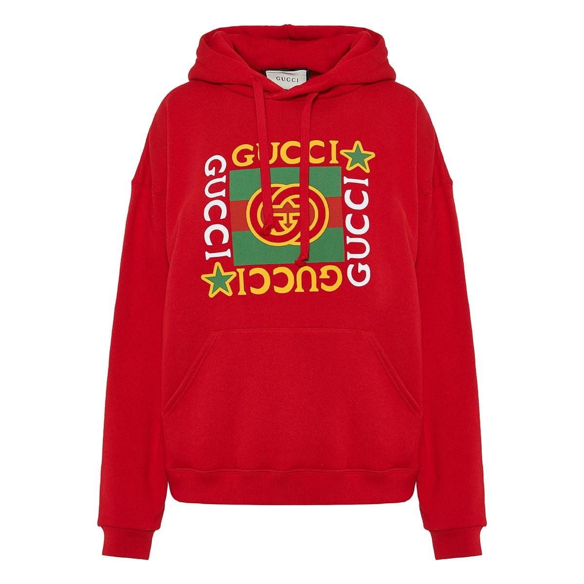 Oversized logo hoodie