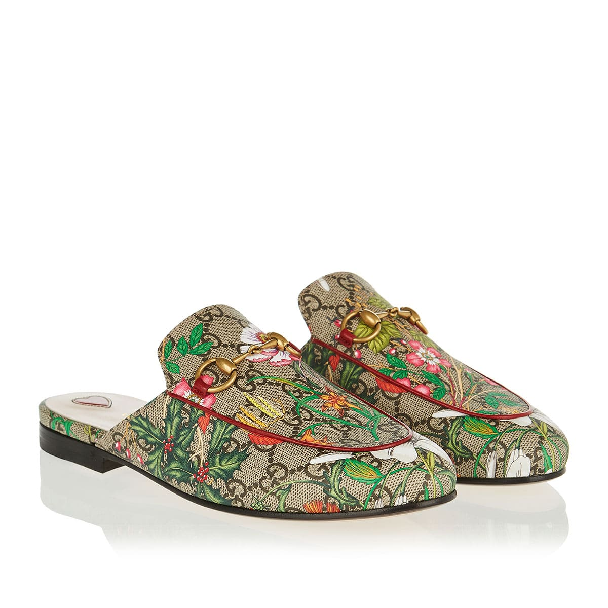 Princetown GG Flora slippers