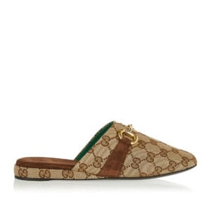 Pericles GG canvas slippers