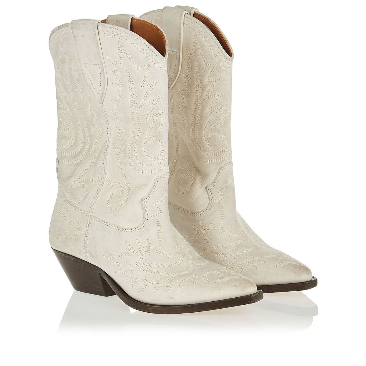 Duerto embroidered leather cowboy boots