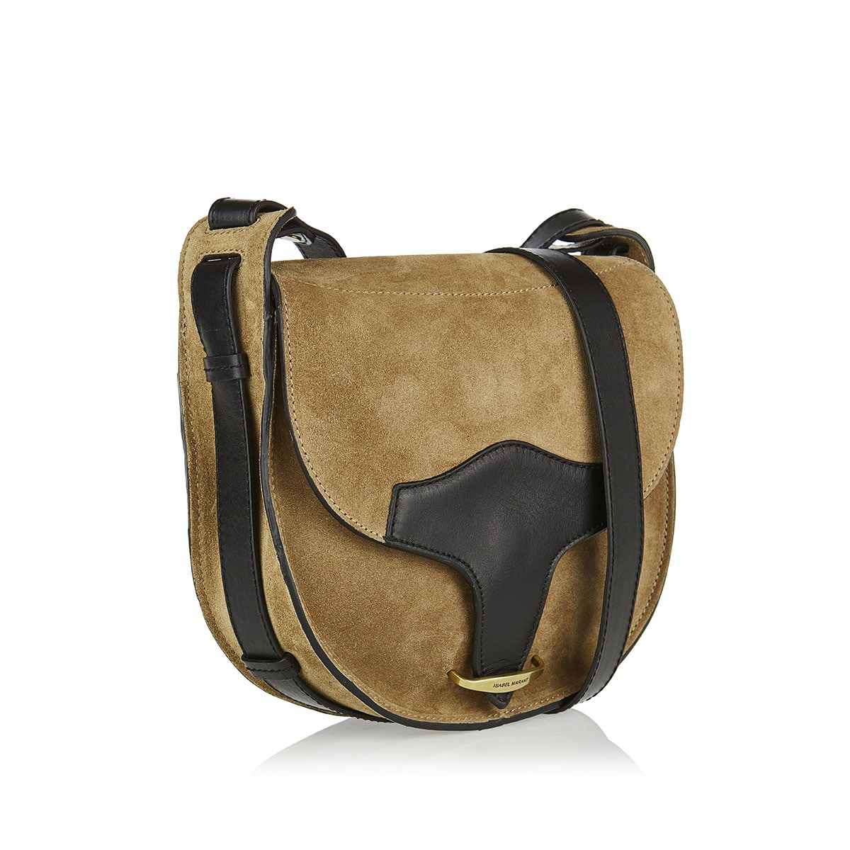 Botsy suede satchel bag