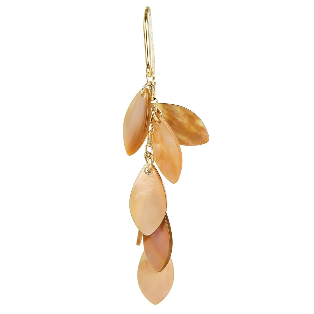 Long seashell earrings