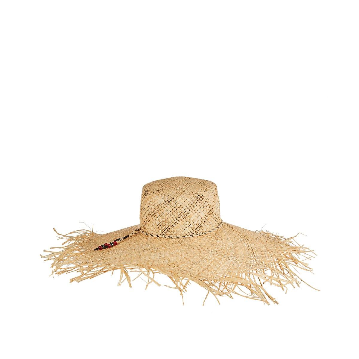 Ursula raffia hat