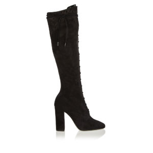 Laura lace-up suede boots