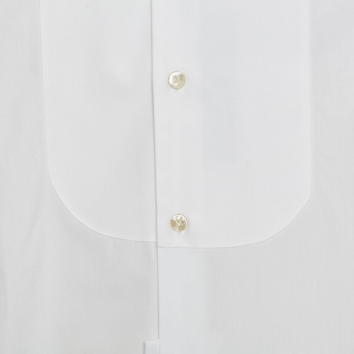Piqué bib poplin shirt