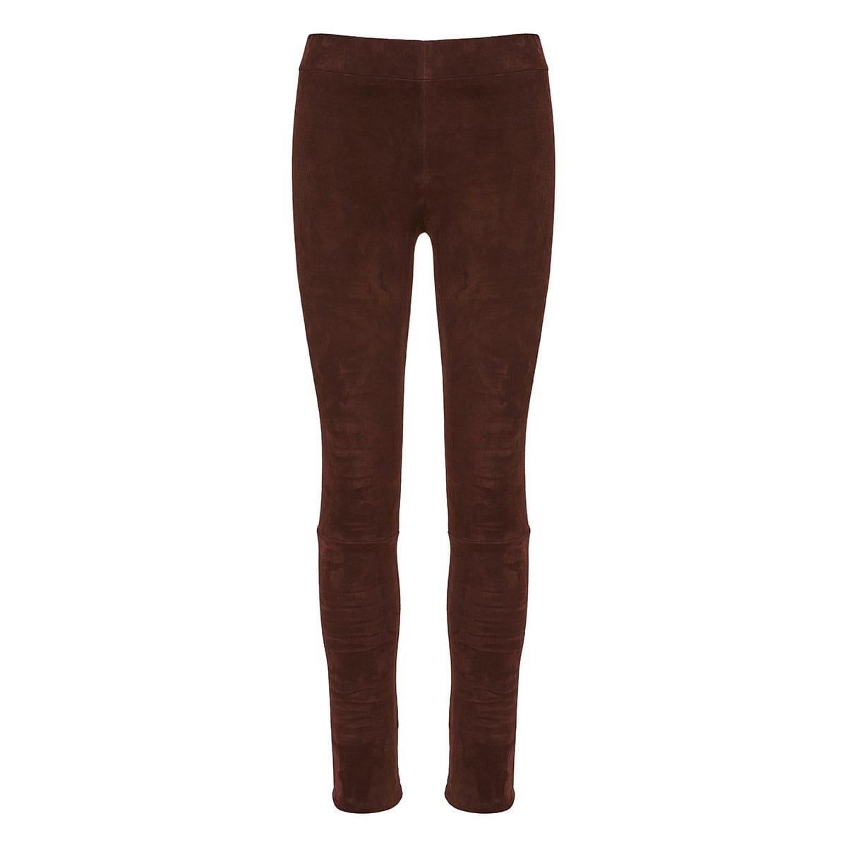 Cosso suede skinny trousers