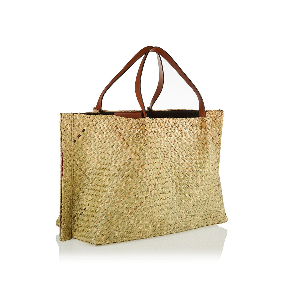 VLOGO Escape large straw tote