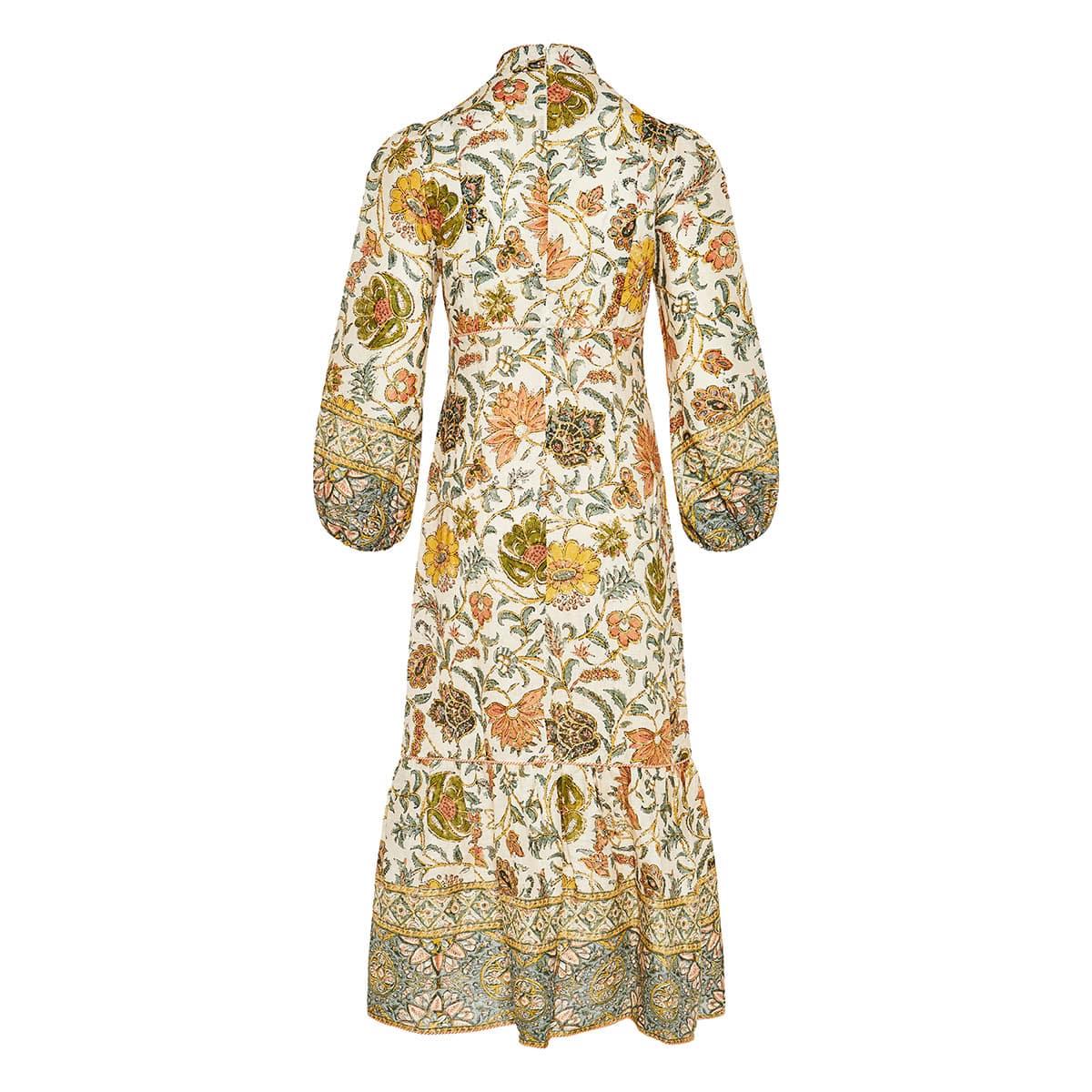 Edie floral midi dress