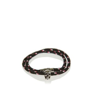 Friendship skull double rope bracelet